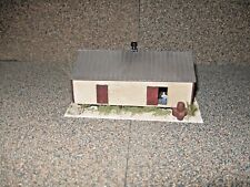 Walthers N Scale Co-Op Storage Shed   Custom Built, Weathered & Detailed