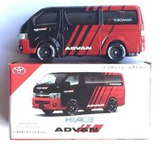 1:64 Toyota Hiace Advan diecast same size with Tomica Hot Wheels size