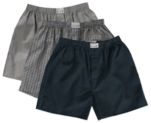 Mens Boxer Shorts 3pc Pro Club Boxer Trunk Mens Underwear Top Quality