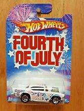 HOT WHEELS 2009 FOURTH OF JULY '57 CHEVY (A+/A)