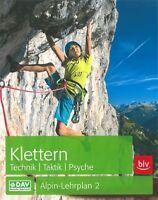 Hoffmann: Klettern - Technik-Taktik-Psyche / Alpin-Lehrplan 2 Handbuch/Ratgeber