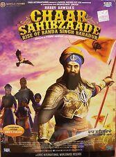 CHAAR SAHIBZAADE 2 THE RISE OF BANDA SINGH BAHADUR - ORIGINAL PUNJABI DVD