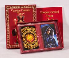 TAROT DECK: Venetian Carnival Tarot set, cards and book