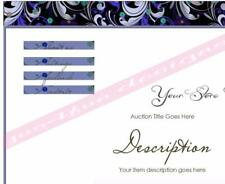 Midnight Blue eBay Listing Template Store Template Auction Template