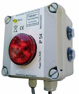 ES 230out-k-Ü Überfüllmelder Fäkaltanküberwachung 2 stufig IP54 mit Handyalarm
