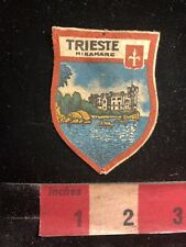Vintage & Thin TRIESTE MIRAMARE Castle Italy Patch 97YH