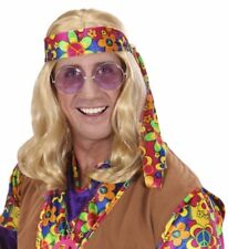 Parrucca Hippie Dude Anni 60 Accessori Costume Carnevale PS 20068