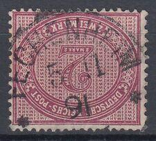 25561) FECHENHEIM Hessen OPD Cassel Schilling-Stempel auf Mi.-Nr. 37 e