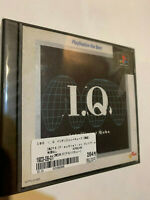 I.Q. INTELLIGENT CUBE IQ ORIGINAL 1ST  PS1 PLAYSTATION 1 JAPAN J-NTSC GAME DISC