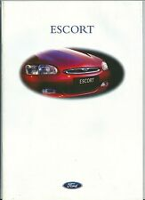 1998 FORD ESCORT brochure italiano Village - Ghia - 1.4 - 1.6 - 1.8 - 1.8 TD