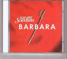 (HK428) We Are Scientists, Barbara - 2010 CD