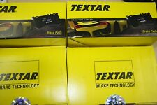 Textar Brake Pads with Warning Contact Audi A6/C7 and A7 Set for Front and Rear