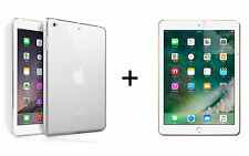 TPU Silikon Schutzhülle für Apple iPad 2017 9,7 + Schutzfolie Display protection