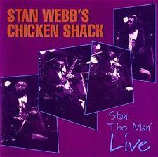 Stan Webb's Chicken Shack - Stan The Man Live [New CD] UK - Import
