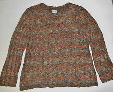 Womens CHICO'S Brown Sweater, Size 3 ? - PreOwned