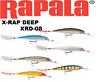 "Rapala X-Rap Deep Diving, XRD-08, 3-1/8"", 1/4 oz, Choice of Colors"