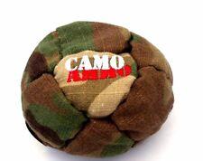 Hacky Sack 14 Panel Dirtbag Camo Ammo Camouflage Footbag Kick Bag New Jungle