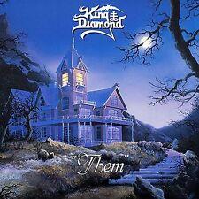 King Diamond - Them Vinyl LP Heavy Metal Sticker Or Magnet