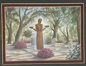 Art Print Bird Girl Statue Bonaventure Cemetery Savannah GA by Essie Deloach