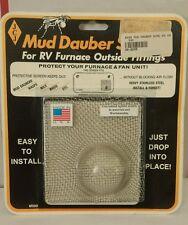 JCJ M-500 Mud Dauber Screen for RV furnace Outside Fitting Games
