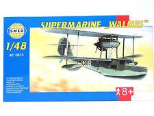 """SMER Supermarine """"Walrus"""" ,Britisches Flugboot, Bausatz 1:48,0815"""