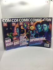 SDCC 18 Exclusive TV Guide 4 pack Comic Con Cover Magazine