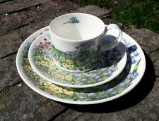 Dunoon Fine Bone China ,Jane Fern, Bluebell Trio, English Wildflowers