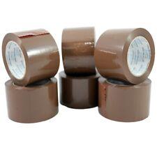 Primetac Packing Tape Tan 3 In X 110 Yd Carton Sealing Tape Refill 6 Rolls