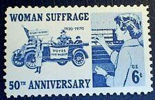 US Scott 1406- Woman Suffrage, Suffragettes Voters- MNH OG F-VF 6c 1970