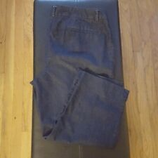 """Women's Chicos Denim Cropped Pants Size 14 Casual 22"""" inseam"""