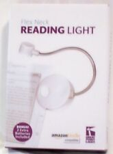 New  Flex Neck Reading Light Amazon Kindle Compatible Clip Light to Book