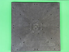 """Mobile Home Parts. Pier Pads. PolyVulc. Blocking Pads. 20"""" x 20"""" Quantity of 10"""