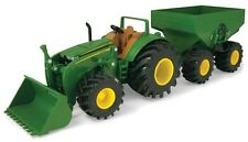 NEW John Deere Monster Treads Tractor and Wagon Built Tough (TBEK46260)