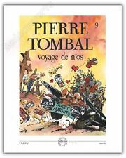 Affiche HARDY Pierre Tombal Voyage de n'os 40x50 cm