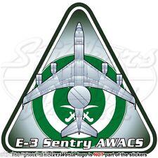 BOEING E-3 Sentry SAUDI ARABIA AirForce E-3A AWACS AEW&C RSAF Autocollants