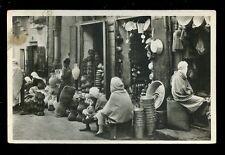 Algeria CONSTANTINE Arab Quarter early RP PPC shop fronts