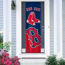 """BOSTON RED SOX 84"""" DOOR BANNER NEW & OFFICIALLY LICENSED"""