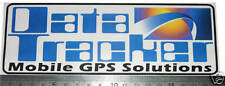 Horsebox Data Tracker anti theft deterrent Stickers x 2  trailer gps etc