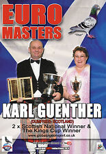 KARL GUENTHER - 2 x SCOTTISH NATIONAL WINNER racing pigeons