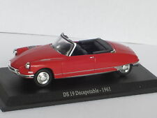 ATLAS CITROEN DS 19 DECAPOTABLE 1961 1/43