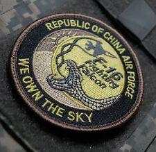 FIGHTING FALCON CLUB PRO-MEMBER ROCAF (TAIWAN) F-16 A/B SHOLDER SLEEVE INSIGNIA