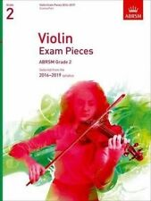 Violin Exam Pieces 2016-2019 ABRSM Grade 2 Score & Part Selected From The 201