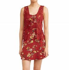 Floral Dress & Vest Set Juniors M No Boundaries