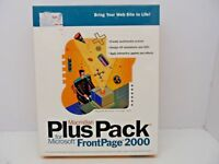 Macmillan's Plus Pack For Microsoft Frontpage 2000 with eBook & User Guide Book