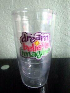 Tervis Tumbler DREAM BELIEVE IMAGINE 16 oz Glass