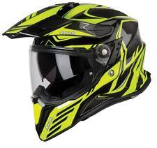 Motorcycle Helmet Motard Enduro off Road Airoh Commander Carbon Black Yellow