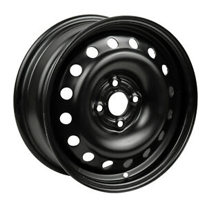 New 15X5.5 Black Steel Wheel for 1991-1997 Honda Accord Coupe 560-63733