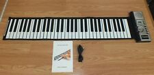 61 MIDI Soft Keyboard Piano Musical Toy With Headphone Connection! **READ**