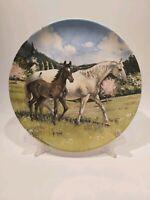 "Spode 1988 ""The Austrian Lipizzaner"" Collectors Plate, Appr.8.5""/21.5cm"