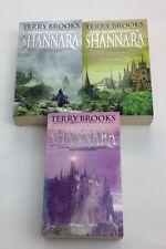 Terry Brooks book 1/2/3 of the Legendary Shannara Series. Vintage Fantasy
